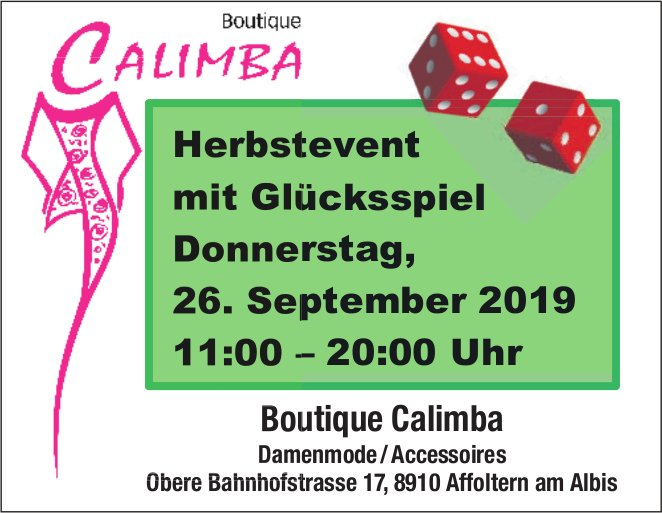 Boutique Calimba in Affoltern