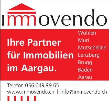 Immovendo - Ihr Partner für Immobilien im Aargau