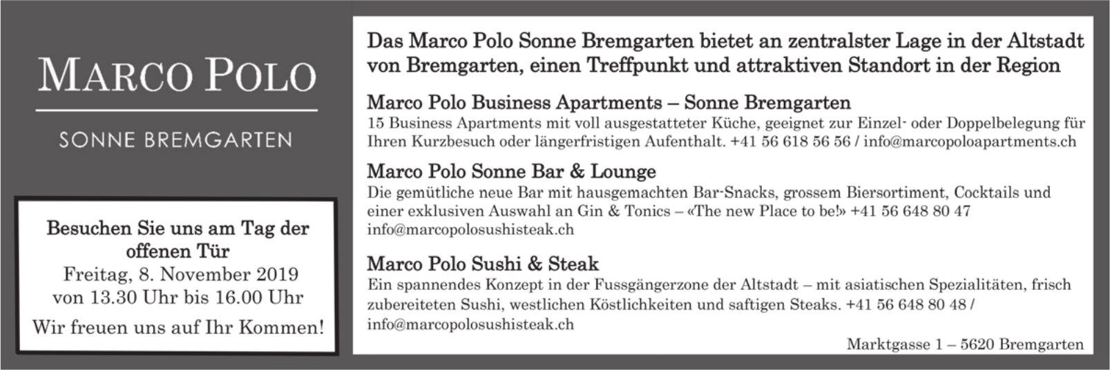 Marco Polo Sonne Bremgarten