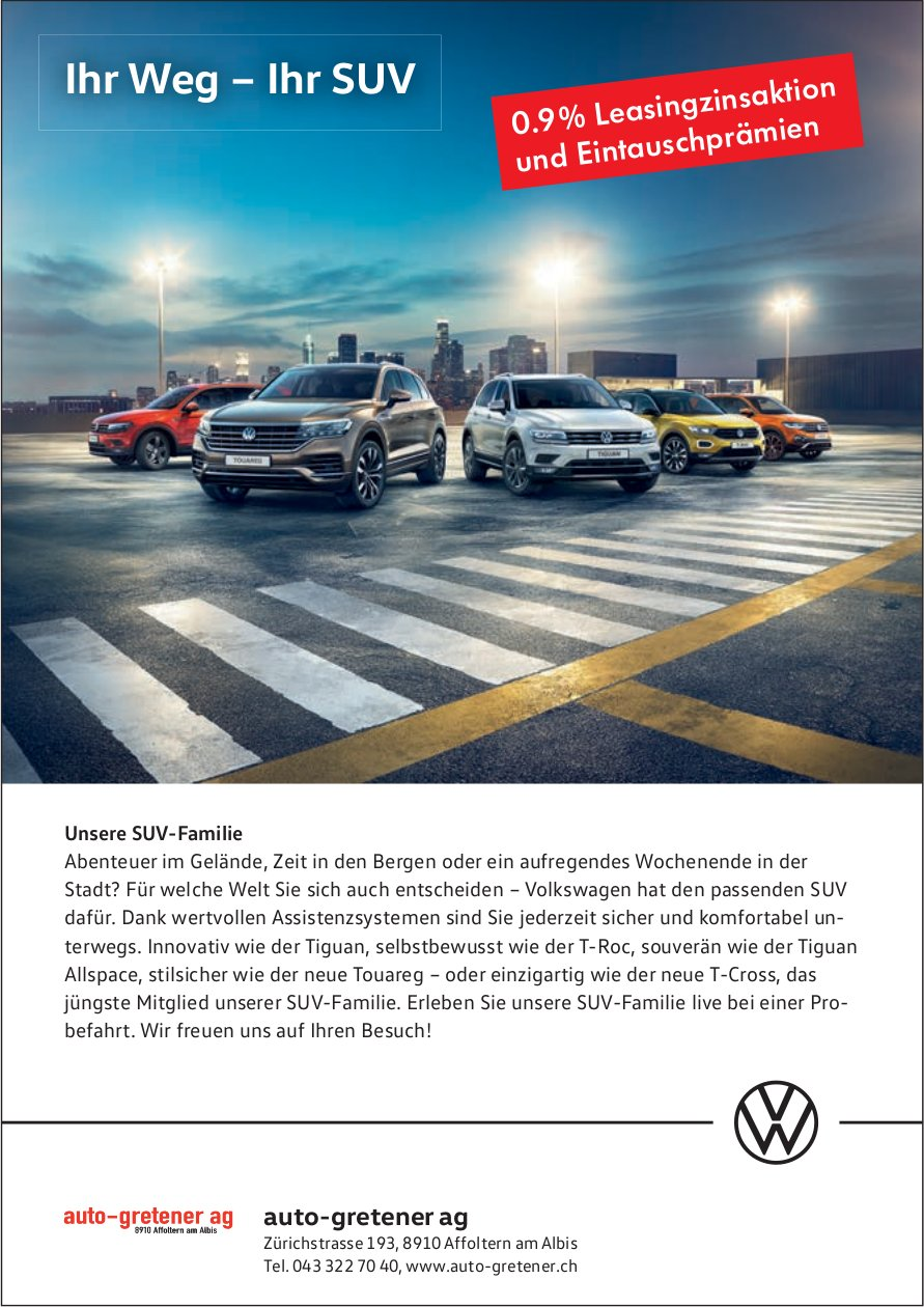 Auto Gretener AG in Affoltern