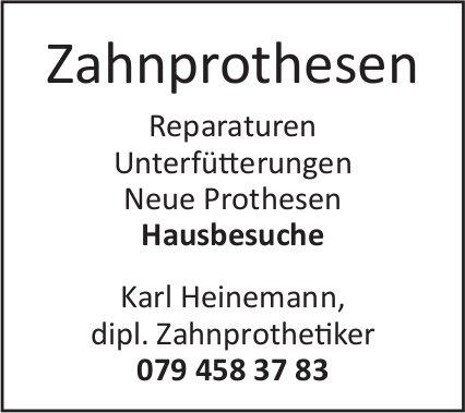 Zahnprothesen Karl Heinemann