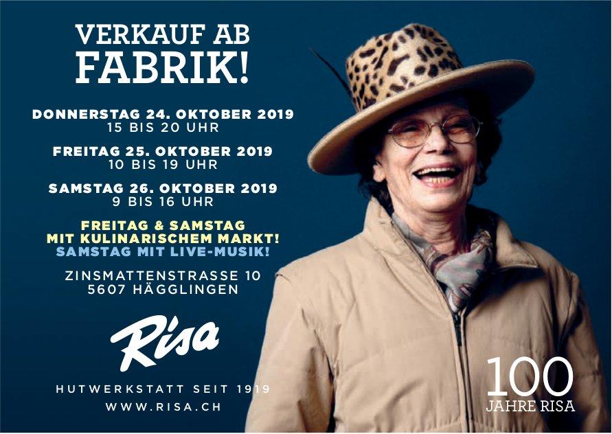 100 Jahre Risa Hüte