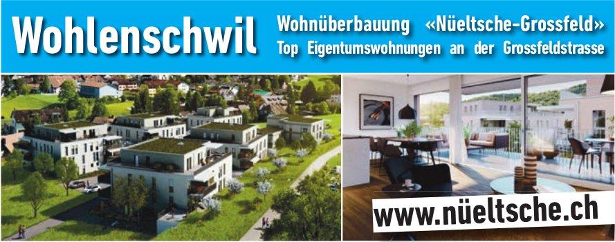 Wohnüuberbauung «Nueltsche-Grossfeld» in Wohlenschwil