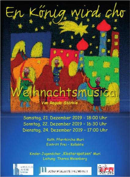 Weihnachtsmusical in Muri vom 21. bis 24. Dezember