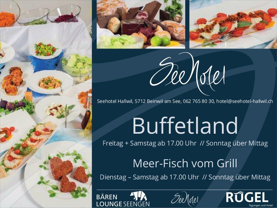 Seehotel Hallwil - Buffetland am Freitag und Samstag