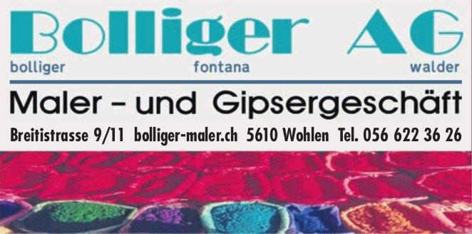 Bolliger AG Maler- und Gipsergeschäft in Wohlen