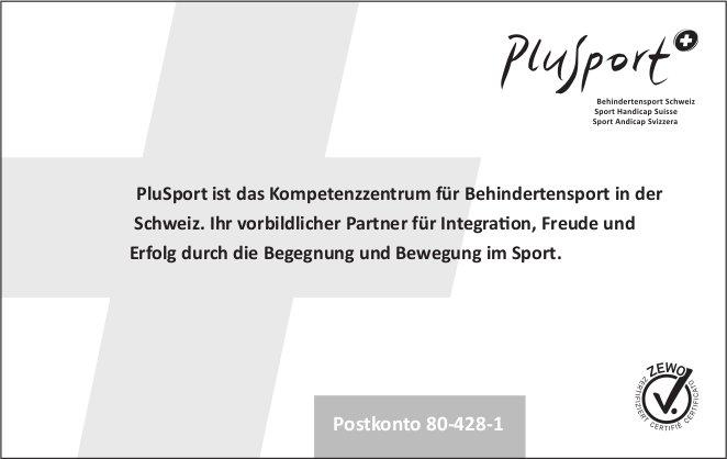 PluSport ist das Kompetenzzentrum für Behindertensport