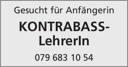 Kontrabass-LehrerIn, Gesucht