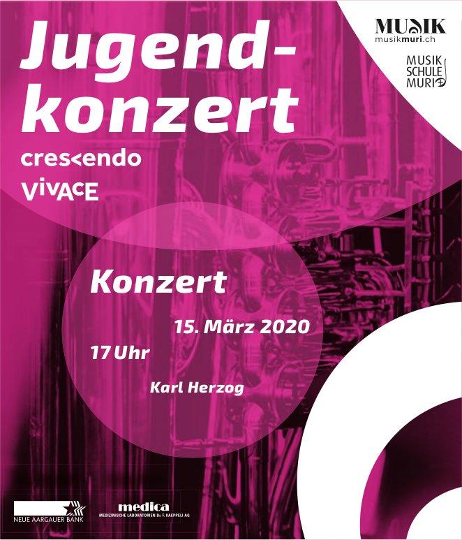Jugendkonzert am 15. März
