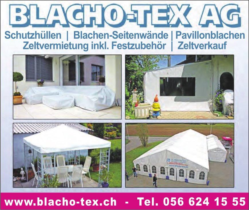 BLACHO-TEX AG - Schutzhüllen, Blachen-Seitenwände, Pavillonblachen etc.