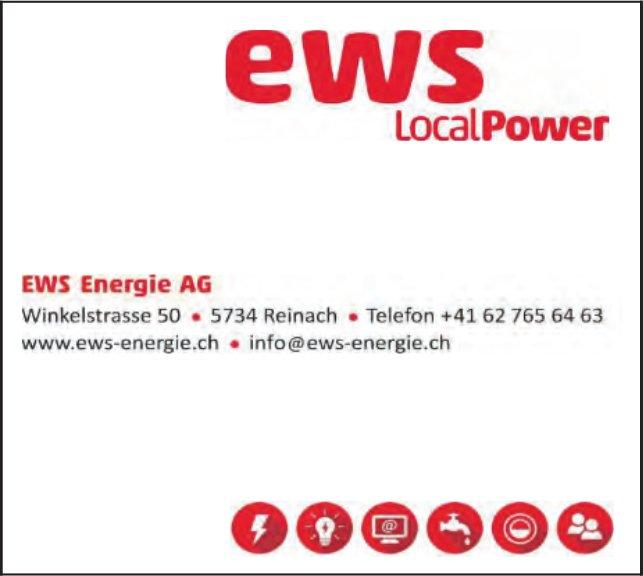 EWS Energie AG, Reinach - LocalPower
