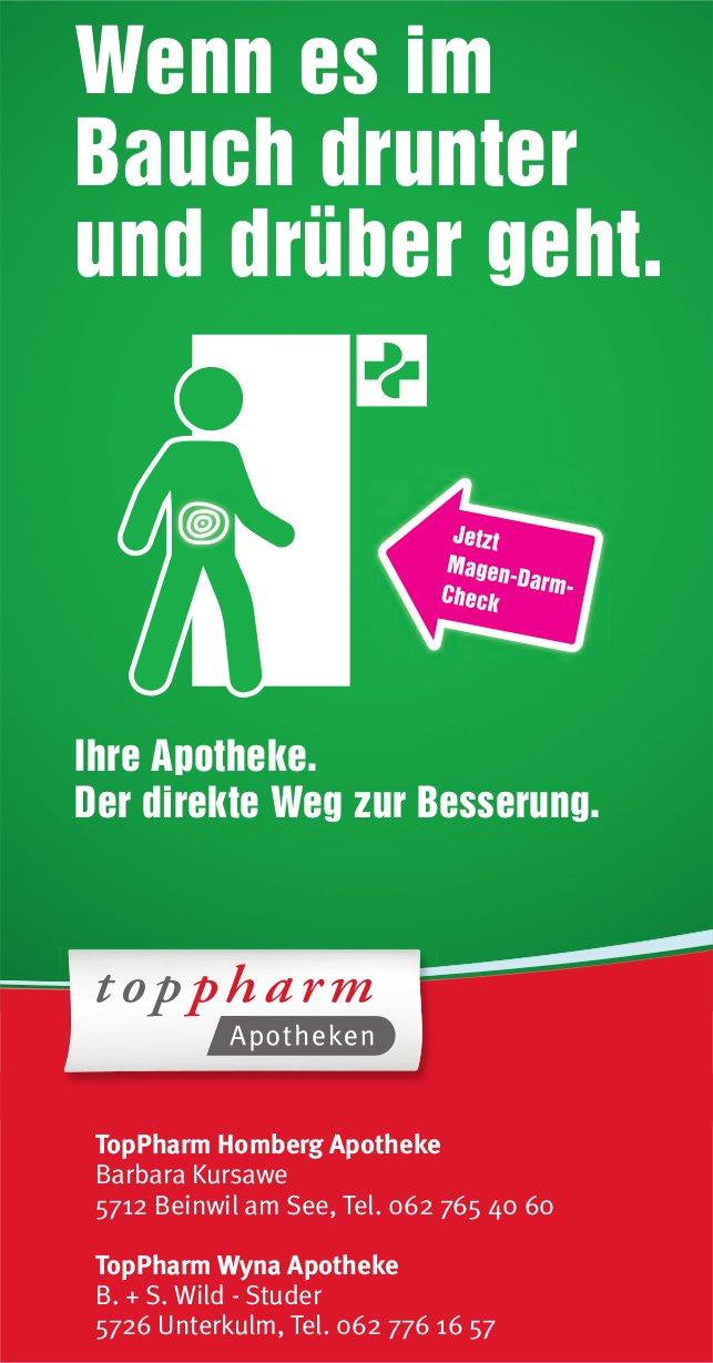 TopPharm Apotheken - Wenn es im Bauch drunter und drüber geht.