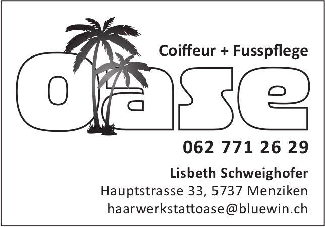 Coiffeur & Fusspflege Oase, Menziken