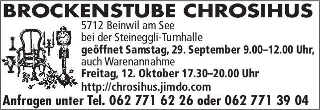 BROCKENSTUBE CHROSIHUS, Beinwil am See