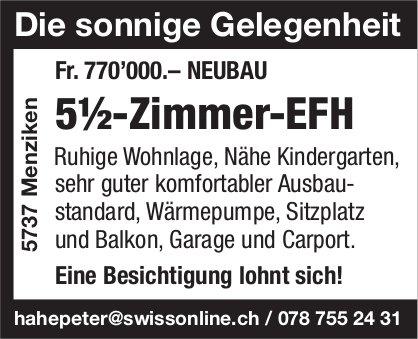 5.5-Zimmer-EFH, Menziken, zu verkaufen