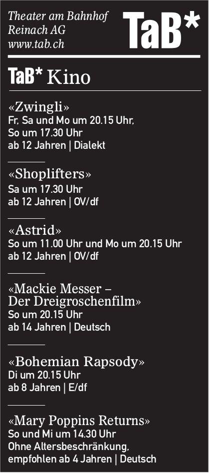 Kinoprogramm, TaB, Reinach