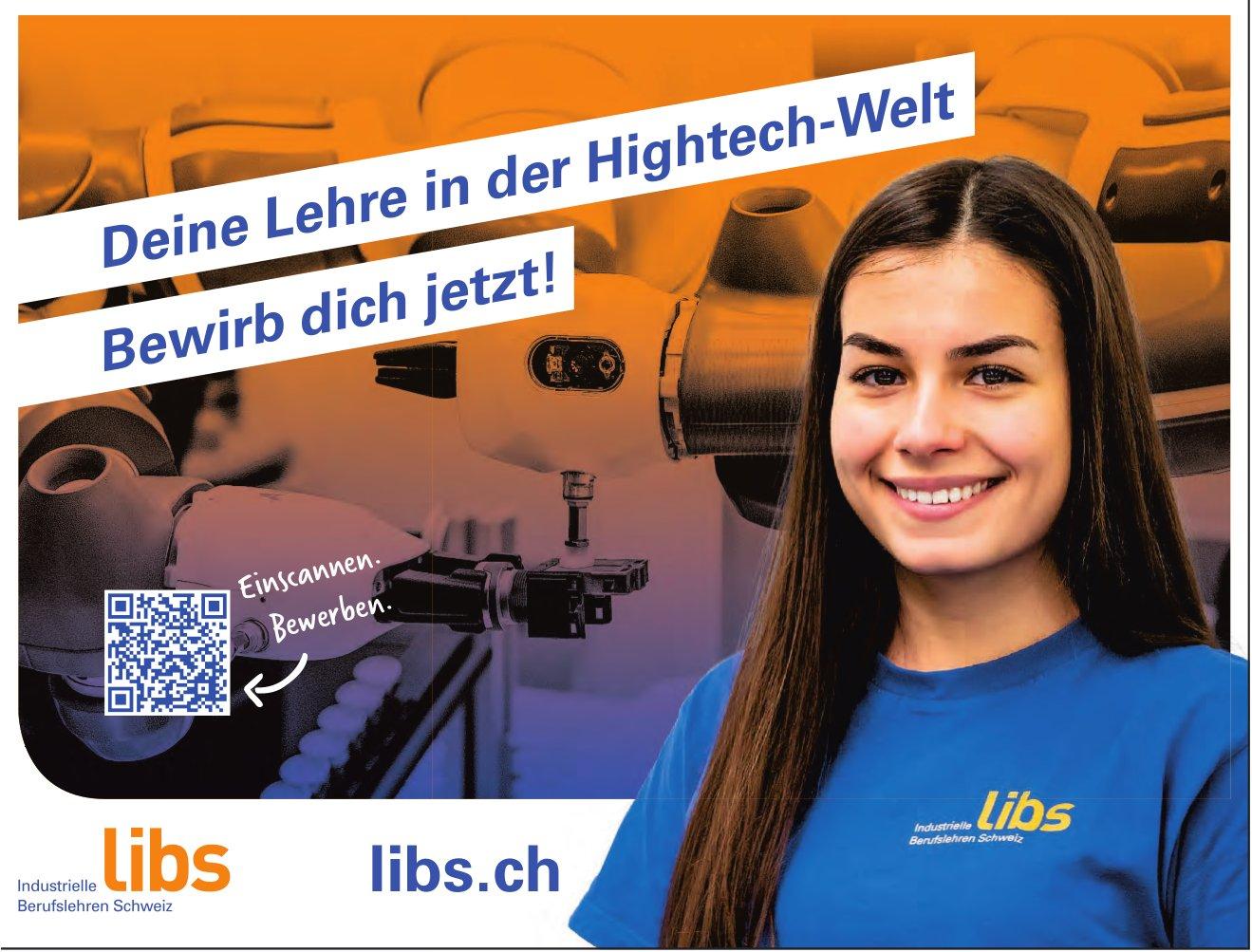 Libs - Deien Lehre in der Hightech-Welt. Bewirb Dich jetzt!