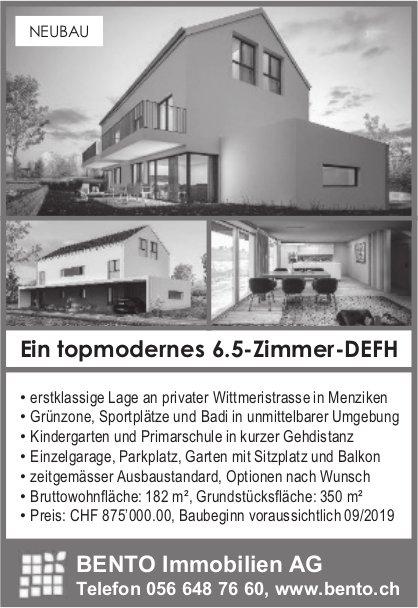 6.5-Zimmer-DEFH, Menziken, zu verkaufen