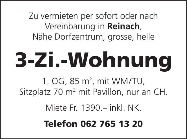 3-Zi.-Wohnung, Reinach, zu vermieten