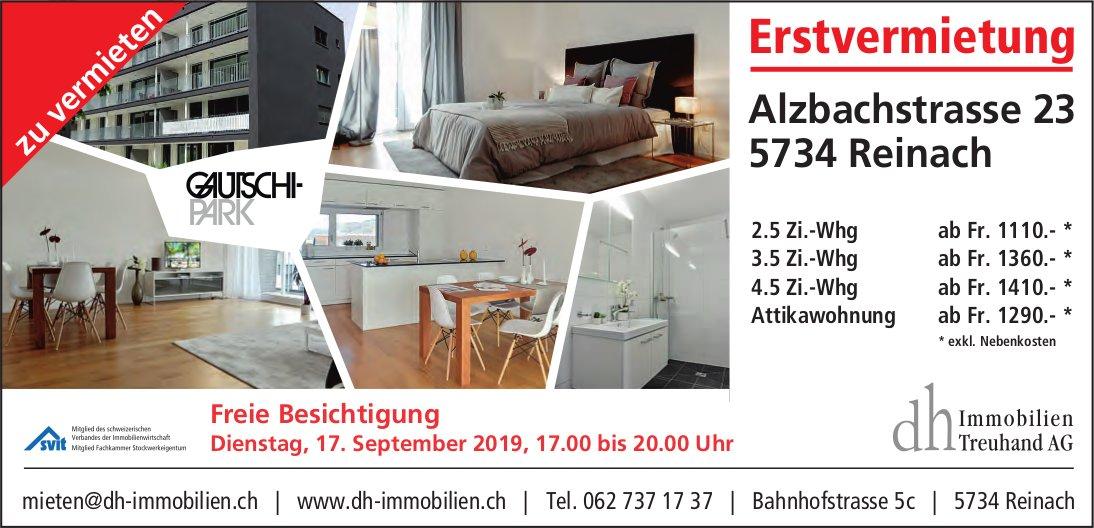 2.5- bis 4.5-Zimmer-Wohnungen, Reinach, zu vermieten