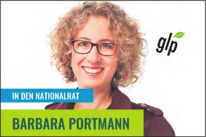 BARBARA PORTMANN IN DEN NATIONALRAT