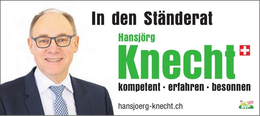 Hansjörg Knecht in den Ständerat