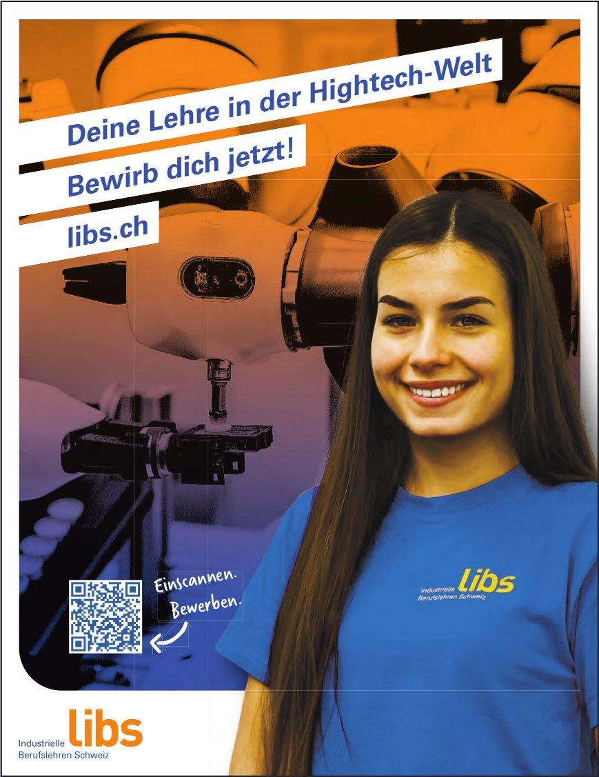 libs - Deine Lehre in der Hightech-Welt Bewirb dich jetzt!