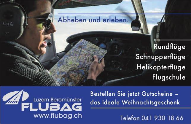 FLUBAG, Luzern-Beromünster - Bestellen Sie jetzt Gutscheine - das ideale Weihnachtsgeschenk