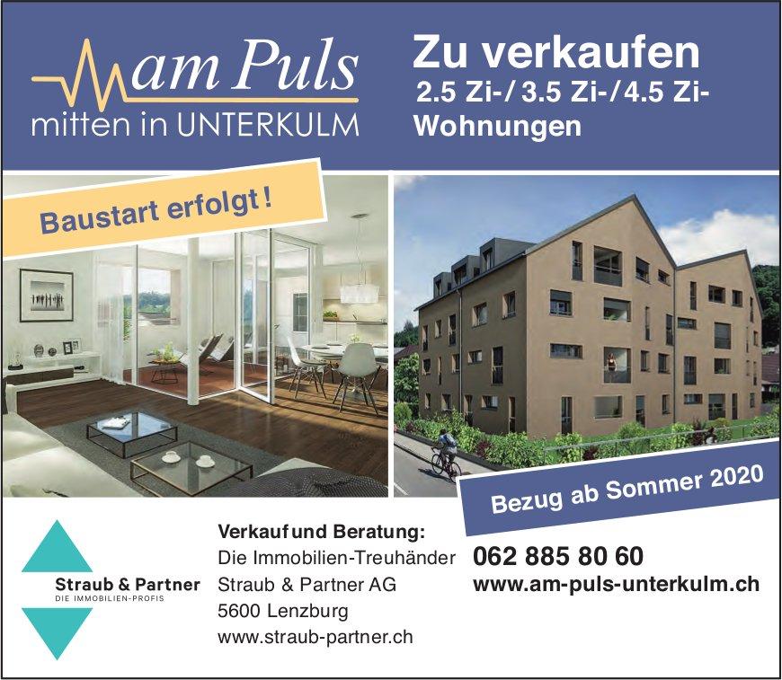 2.5 Zi-/ 3.5 Zi-/4.5 Zi- Wohnungen, Unterkulm, zu verkaufen